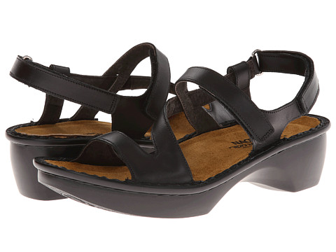 Naot Footwear - Tuscany (Black Raven Leather) Women