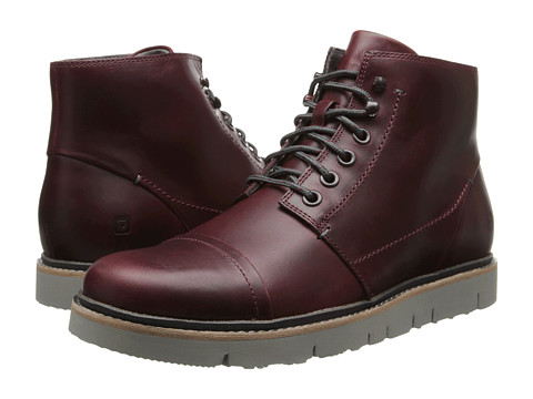 Tsubo - Hoshi (Deep Mahogany Leather) Men's Lace-up Boots