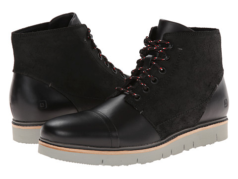 Tsubo - Hoshi (Black Leather) Men's Lace-up Boots
