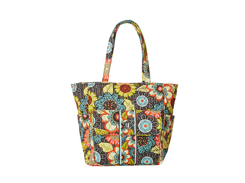 Vera Bradley Tablet Tote (Flower Shower) Tote Handbags