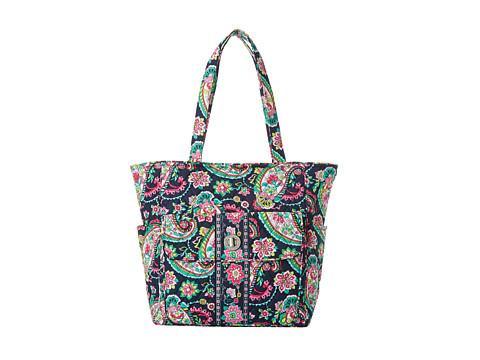 Vera Bradley Tablet Tote (Petal Paisley) Tote Handbags