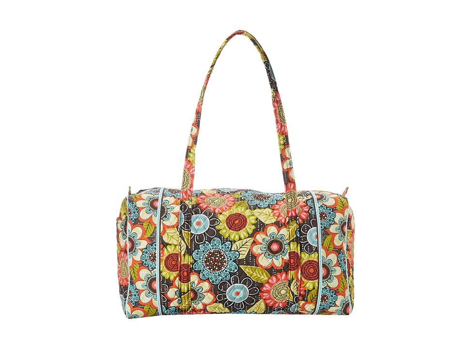 Vera Bradley - Large Duffel (Flower Shower) Duffel Bags