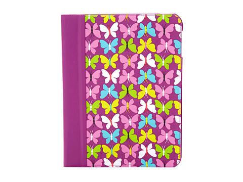 Vera Bradley Tablet Case with Stand (Flutterby Butterflies) Cell Phone Case