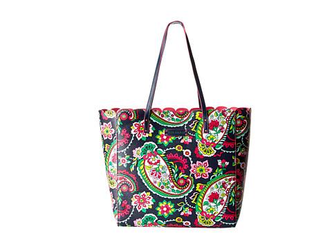 Vera Bradley - Scallop Tote (Petal Paisley) Tote Handbags