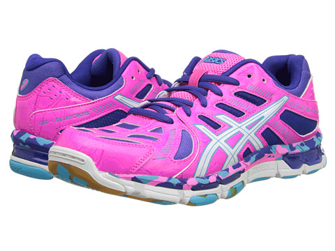 ASICS - GEL-Volleycross Revolution (Knockout Pink/White/Electric Blue) Women
