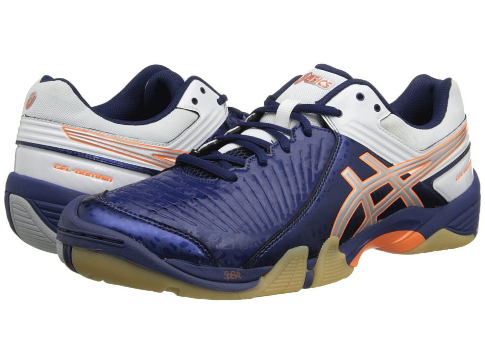 ASICS - GEL-Domain 3 (Navy/Lightning/White) Men's Volleyball Shoes