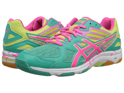 ASICS - GEL-Flashpoint 2 (Atlantis/Knockout Pink/Sunny Lime) Women's Shoes