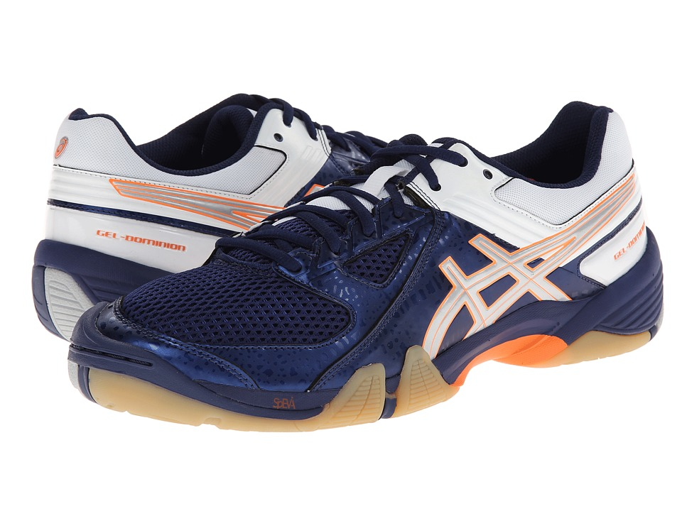 ASICS - GEL-Dominion (Navy/Silver/White) Men