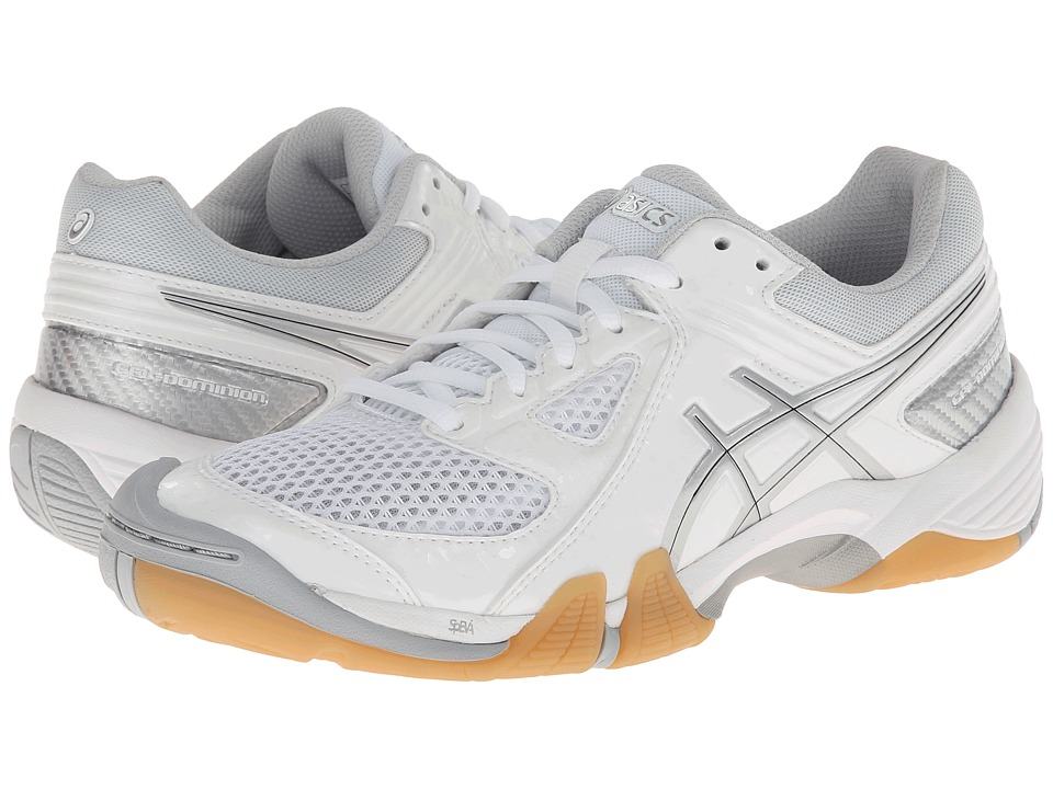ASICS - GEL-Dominion (White/Silver) Women's Shoes