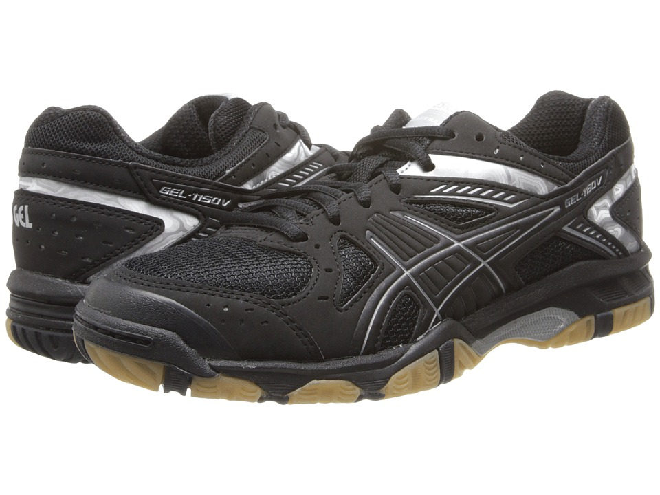 ASICS - GEL-1150V (Black/Black/Silver) Women