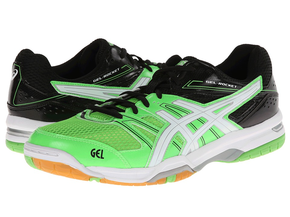 ASICS - GEL-Rocket 7 (Neon Green/White/Black) Men