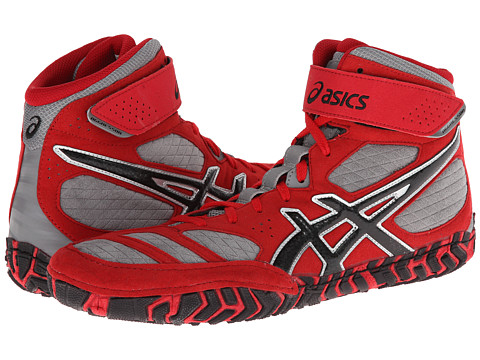 ASICS - Aggressor 2 (Fire Red/Black/Graphite) Men