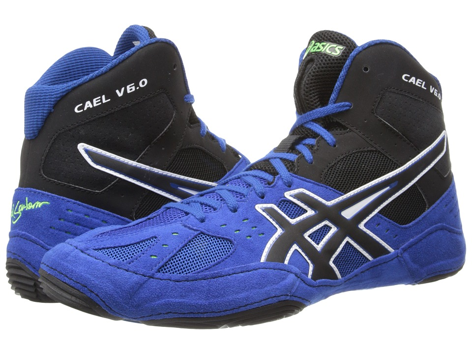 ASICS - Cael V6.0 (Electric Blue/Black/Lime) Men