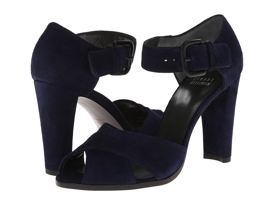 Stuart Weitzman - Salana (Nice Blue Suede) High Heels