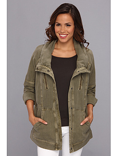 SALE! $41.99 - Save $98 on DKNY Jeans Utility Coat (Dusty Olive) Apparel - 69.90% OFF $139.50