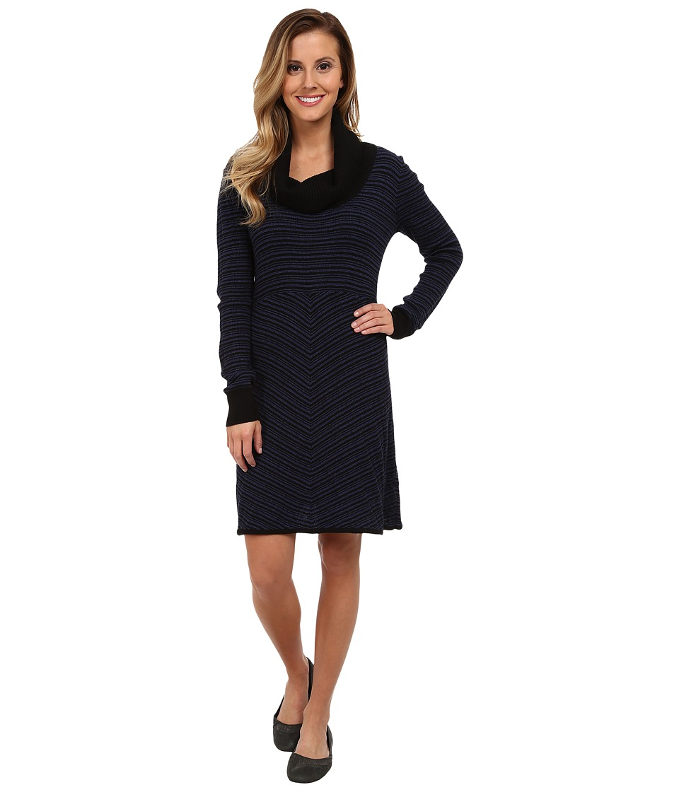 Prana - Monica Sweater Dress (Blue Twilight) Women's Dress