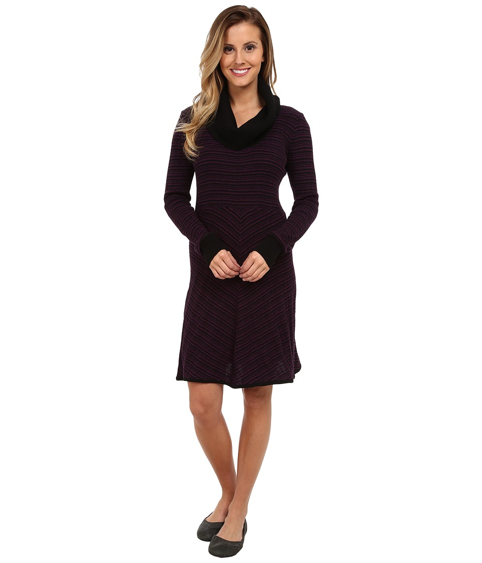 Prana - Monica Sweater Dress (Red Violet) Women's Dress