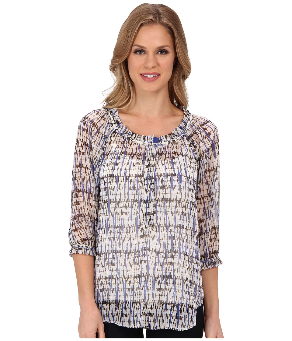 NIC+ZOE - Indian Summer Breezy Confetti Shirt (Multi) Women's Blouse