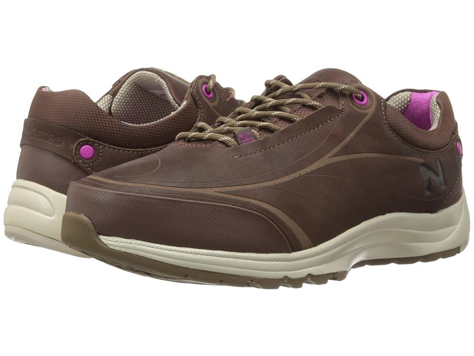 New Balance - WW999 (Brown) Women's Walking Shoes