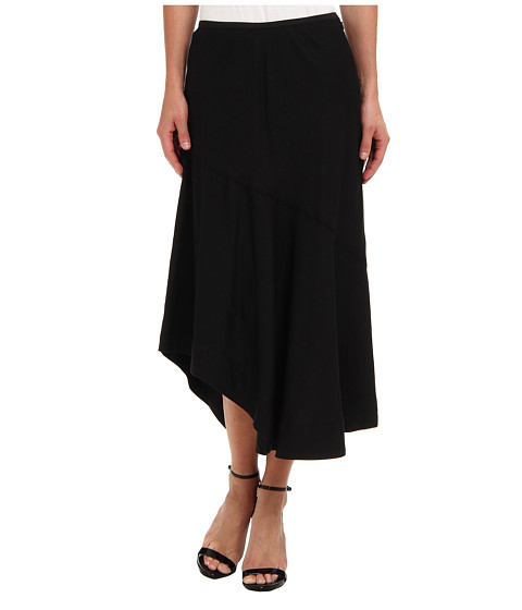 NIC+ZOE - Indian Summer The Long Engagement Skirt (Black Onyx) Women