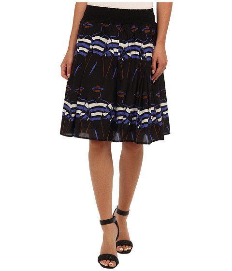 NIC+ZOE - Indian Summer Gondolier Flirt Skirt (Multi) Women