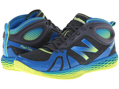 New Balance - Fresh Foam MX80 (Blue/Yellow) Men's Shoes