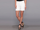 DKNY Jeans Bleeker Boyfriend Rolled Short in White
