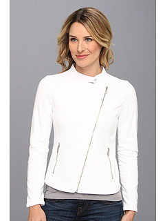 SALE! $29.99 - Save $69 on DKNY Jeans Moto Jacket (White) Apparel - 69.55% OFF $98.50