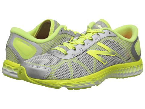 New Balance - Fresh Foam WX822 (Grey/Yellow) Women's Running Shoes