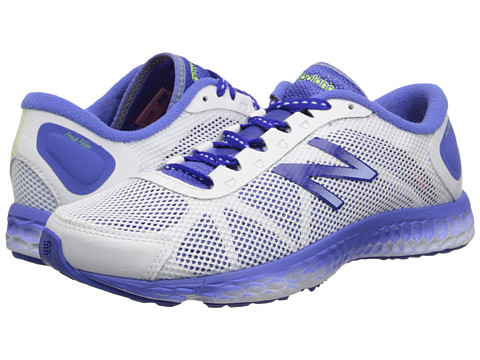 New Balance - Fresh Foam WX822 (White/Blue) Women's Running Shoes