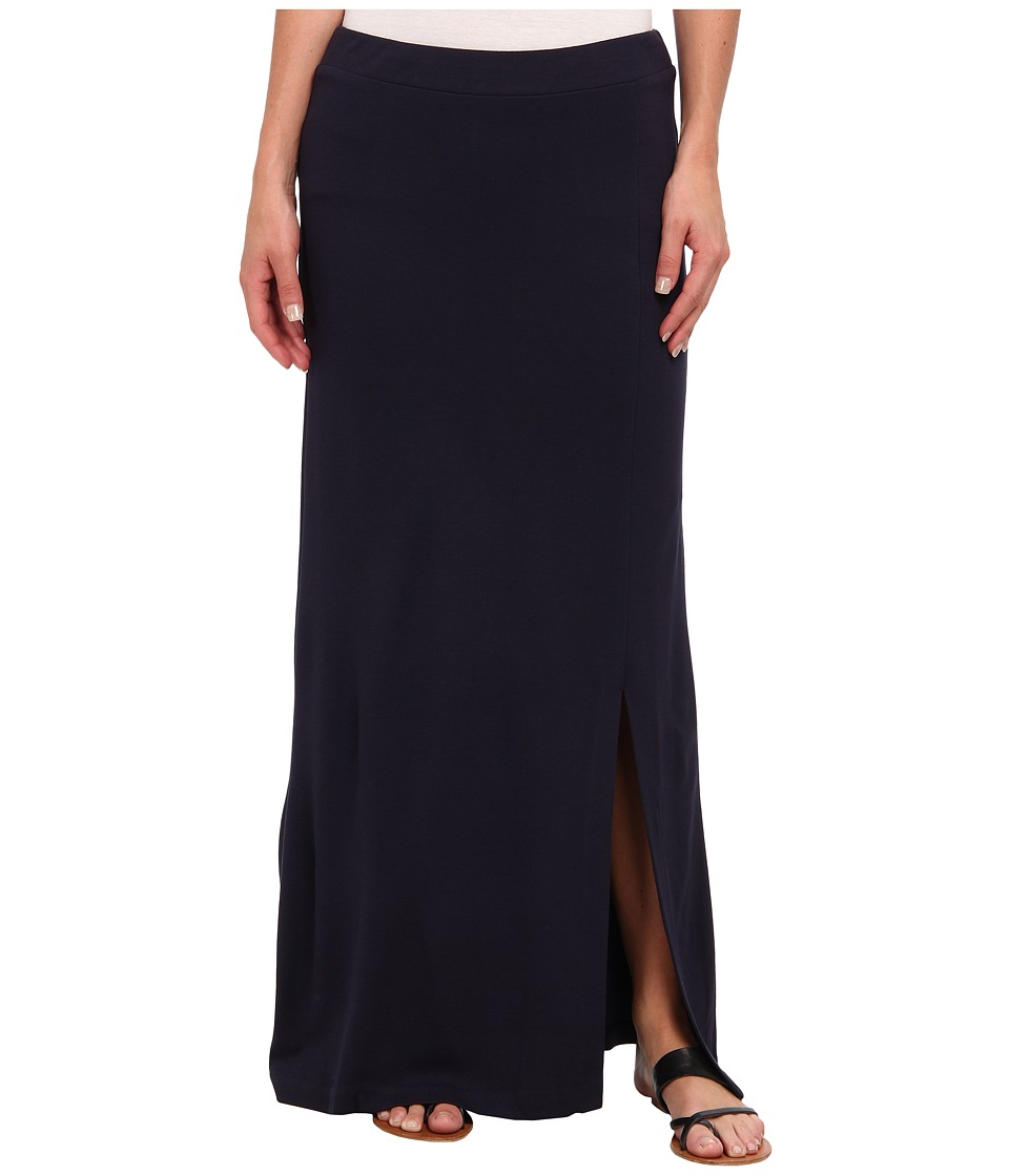 NIC+ZOE - Daybreak Courtyard Column Skirt (Moonless Night) Women