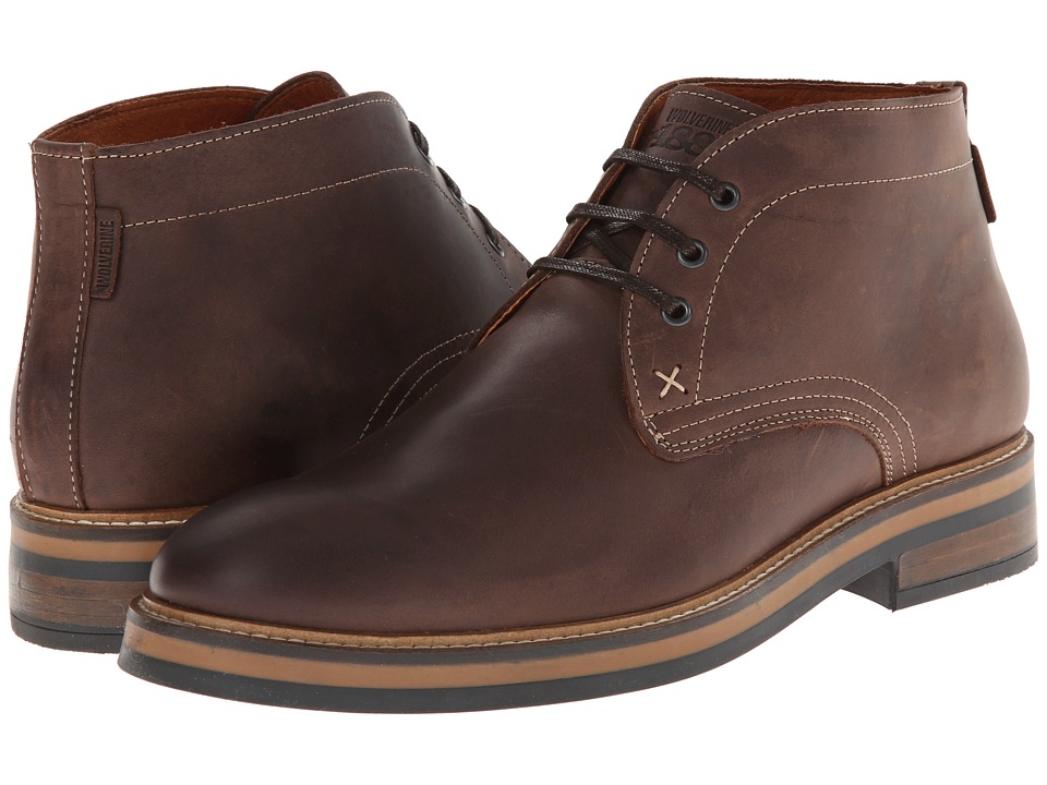 Wolverine - Francisco Chukka (Dark Brown) Men's Boots