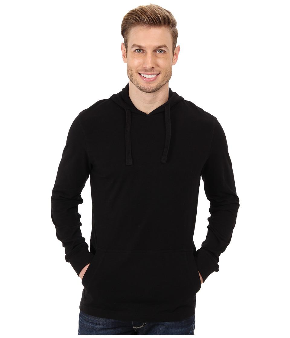 Prana - Setu Hoodie (Black) Men's Sweatshirt