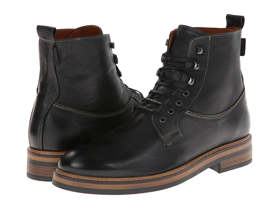 Wolverine - Ramon 6 Boot (Black) Men's Work Lace-up Boots