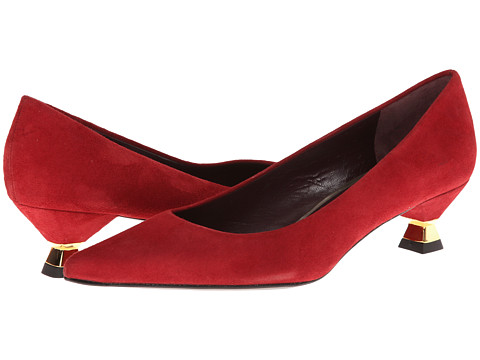 Stuart Weitzman - Ringit (Raddisth Suede) Women's 1-2 inch heel Shoes