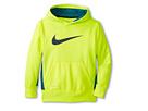 Nike Kids KO 2.0 Hoody (Little Kids/Big Kids) (Volt/Rift Blue/Dark Magnet Grey)