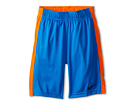 Nike Kids Fly Short (Little Kids/Big Kids) (Phot Blue/Hyper Crimson/Black)