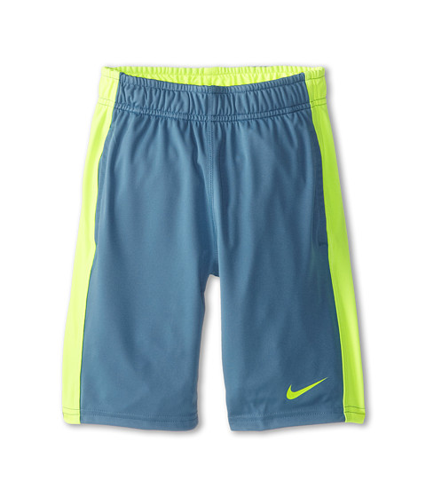 Nike Kids - Fly Short (Little Kids/Big Kids) (Rift Blue/Volt/Volt) Boy