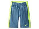 Nike Kids Fly Short (Little Kids/Big Kids) (Rift Blue/Volt/Volt)