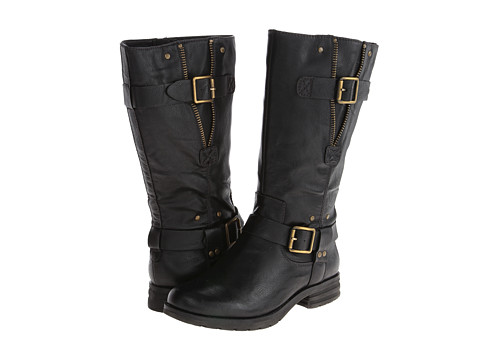 Naturalizer - Ballona Wide Shaft (Black Wide Shaft Smooth) Women's Boots