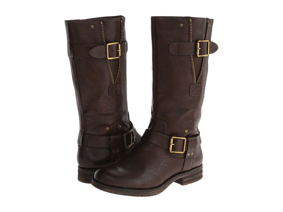 Naturalizer - Ballona Wide Shaft (Brown Wide Shaft Smooth) Women's Boots