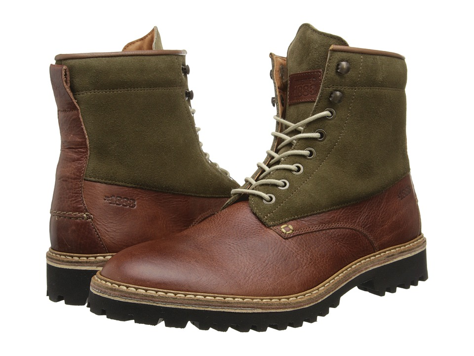 Wolverine Tomas Plain Toe Hiker (Brown) Men