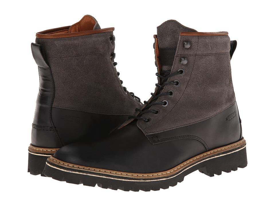 Wolverine - Tomas Plain Toe Hiker (Black) Men's Boots