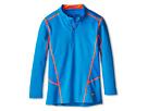 Nike Kids HyperWarm Lite Fit 1/4 Zip (Little Kids/Big Kids) (Photo Blue/Hyper Crimson)