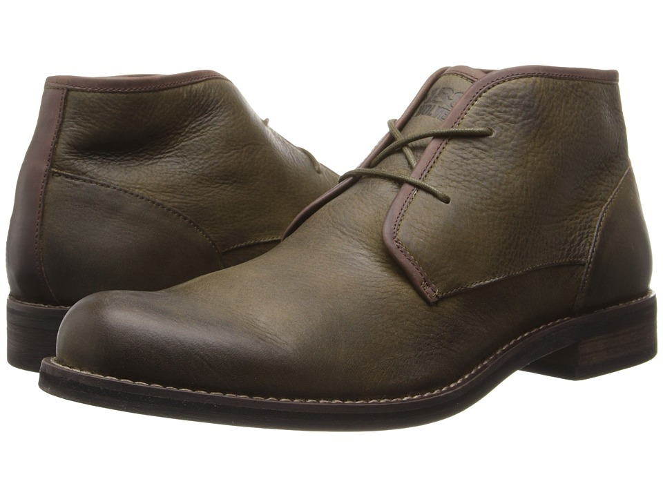 Wolverine - Orville Desert Boot (Olive) Men's Work Lace-up Boots