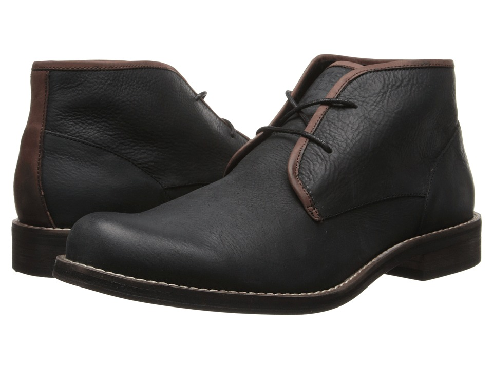 Wolverine - Orville Desert Boot (Black) Men's Work Lace-up Boots