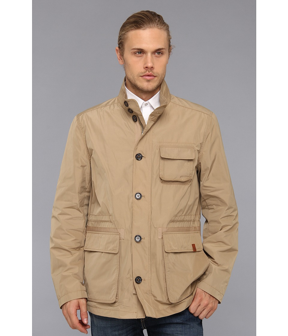 Ben Sherman - Memory Poly Field Jacket (Kelp) Men's Coat