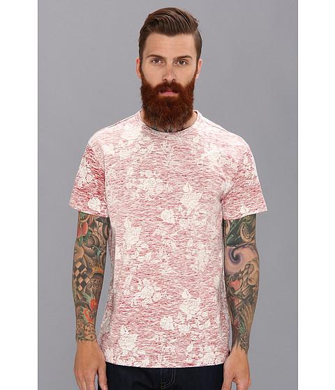 Ben Sherman - Rose Print T-Shirt MB10475 (Red) Men