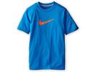 Nike Kids Essentials Legend S/S Top (Little Kids/Big Kids) (Photo Blue/Dark Grey Heather/Hyper Crimson)