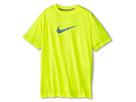 Nike Kids Essentials Legend S/S Top (Little Kids/Big Kids) (Volt/Dark Grey/Heather/Magnet Grey)